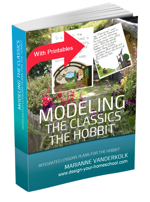Modeling the Classics - The Hobbit Ebook from www.design-your-homeschool.com