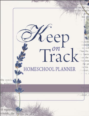 Keep on Track Planner - no dates - www.design-your-homeschool.com