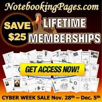 NotebookingPages.com Cyber Week Membership Sale