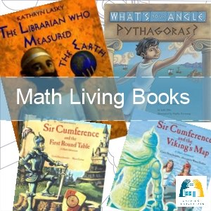 Math Story Books or living books to read aloud
