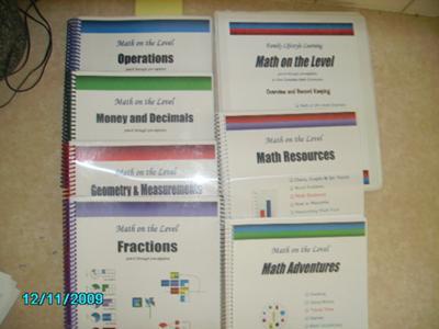 home school math curriculum math on the level