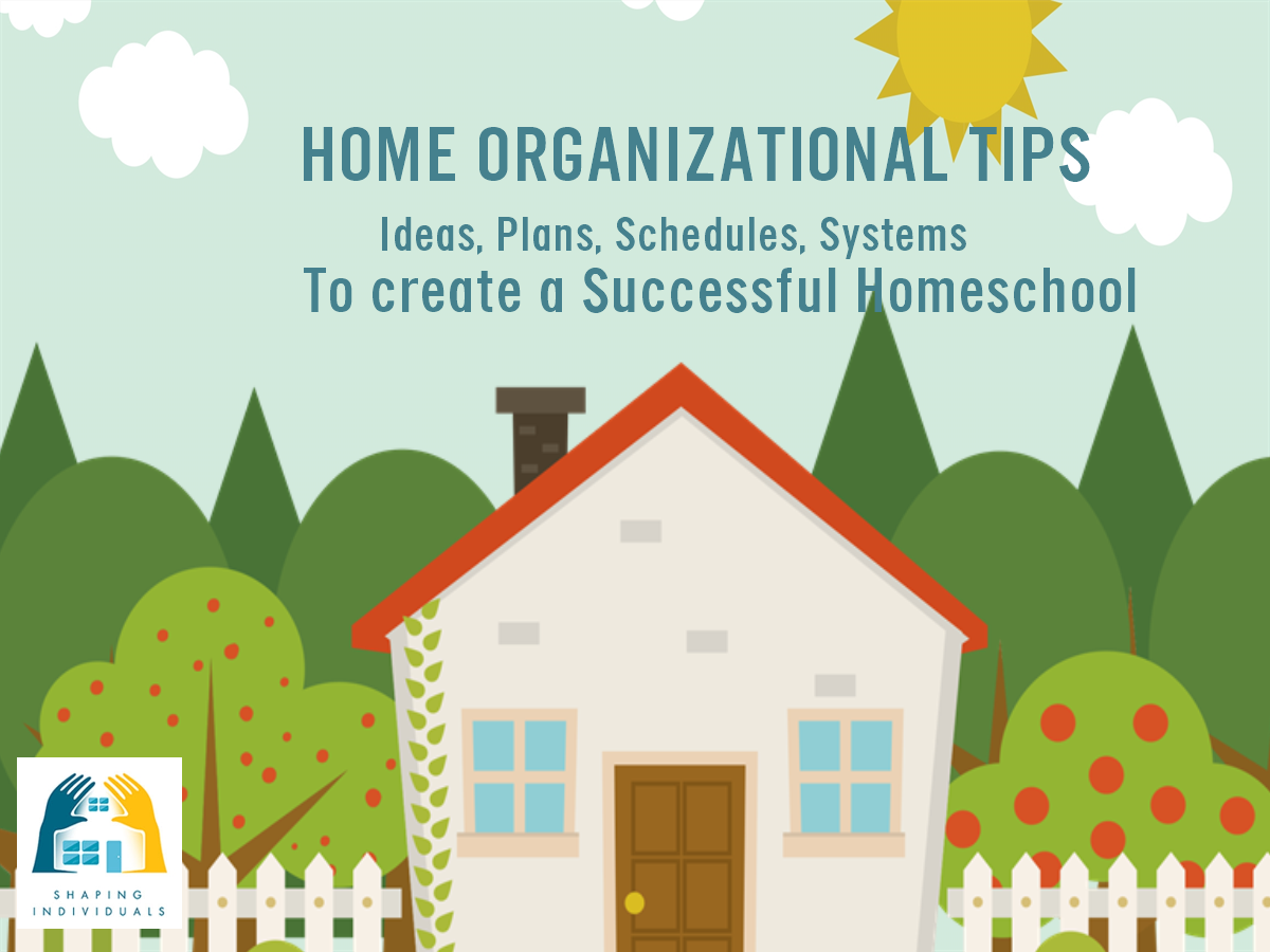Home Organizational Tips - life hacks to help your homeschool be organized.