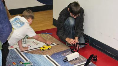 Participating in Lego Robotics