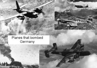 He are some of Allies planes which helped destroy Germany