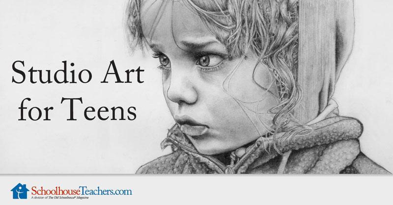 Studio Art Course for Teens